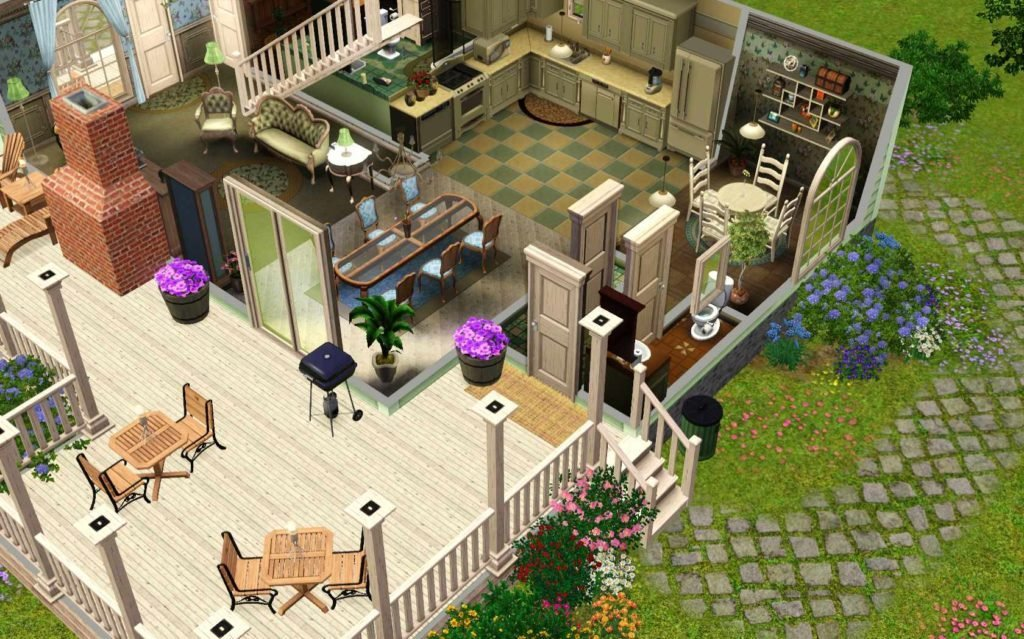 The Sims series by EA Maxis
