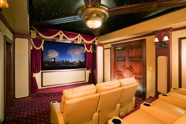 simphome classic theater room