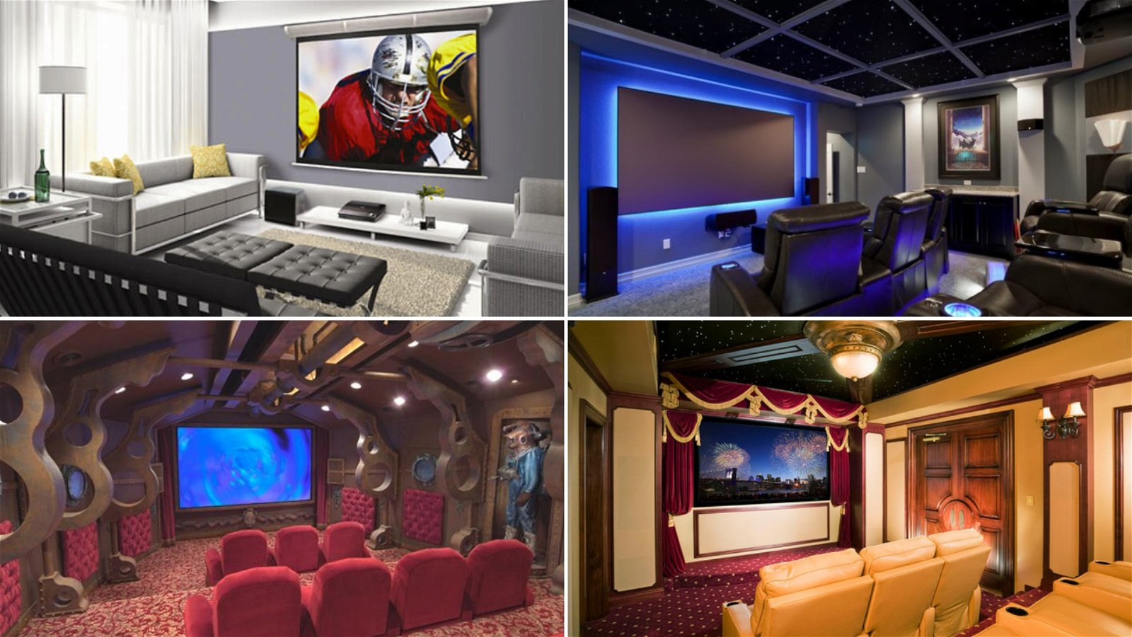 simphome theater room