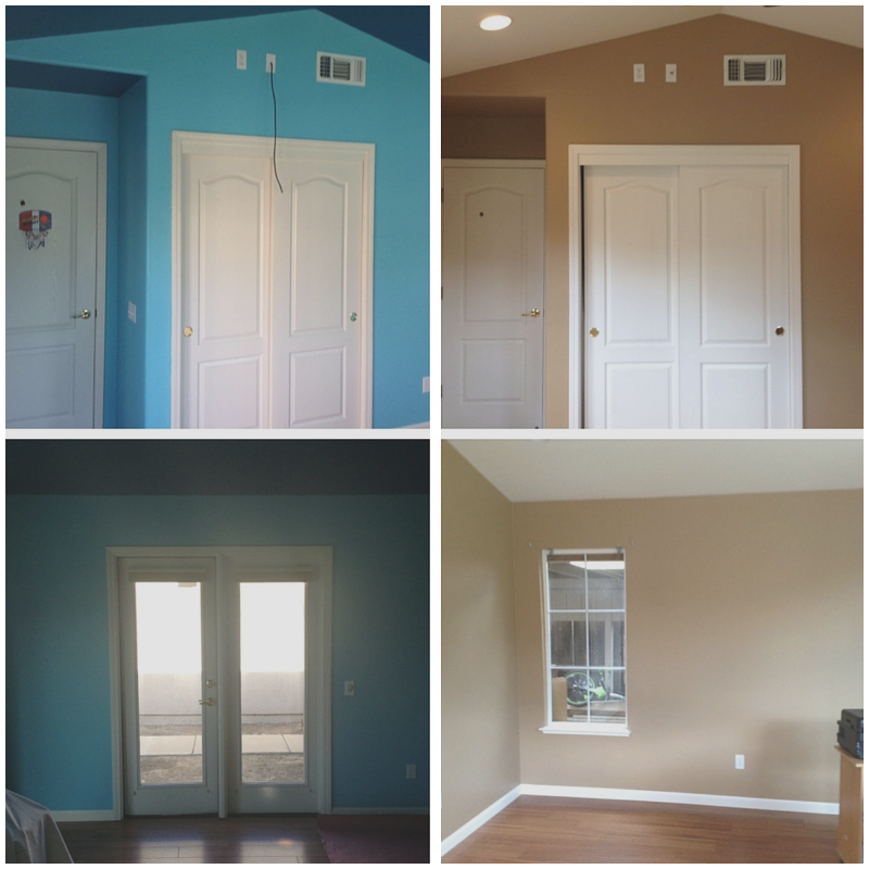 2 Painting ideas Use lighter colors on both your walls and floors via simphome