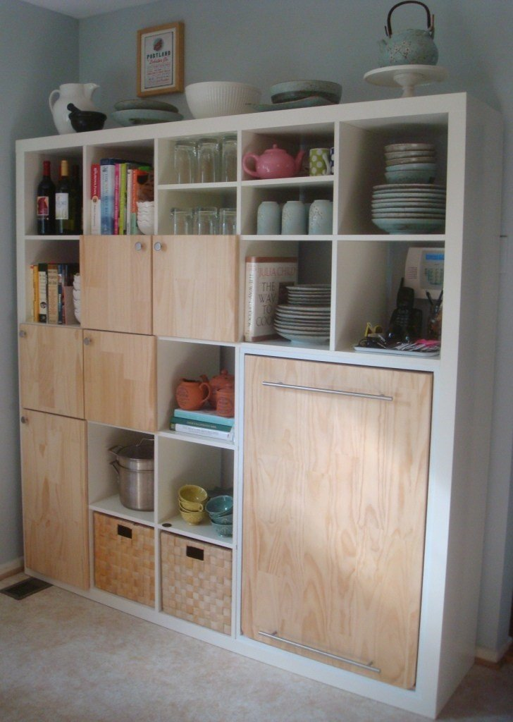 8 Kallax or Expedit Storage and Counter Combo 2 Simphome com