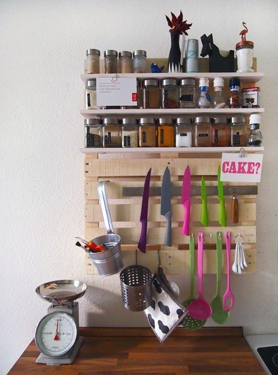 Kitchen Shelf for Spices and Kitchenware simphome com