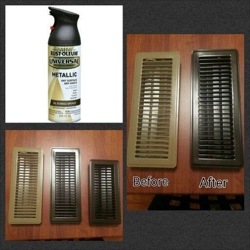 Repaint your old air ventilation