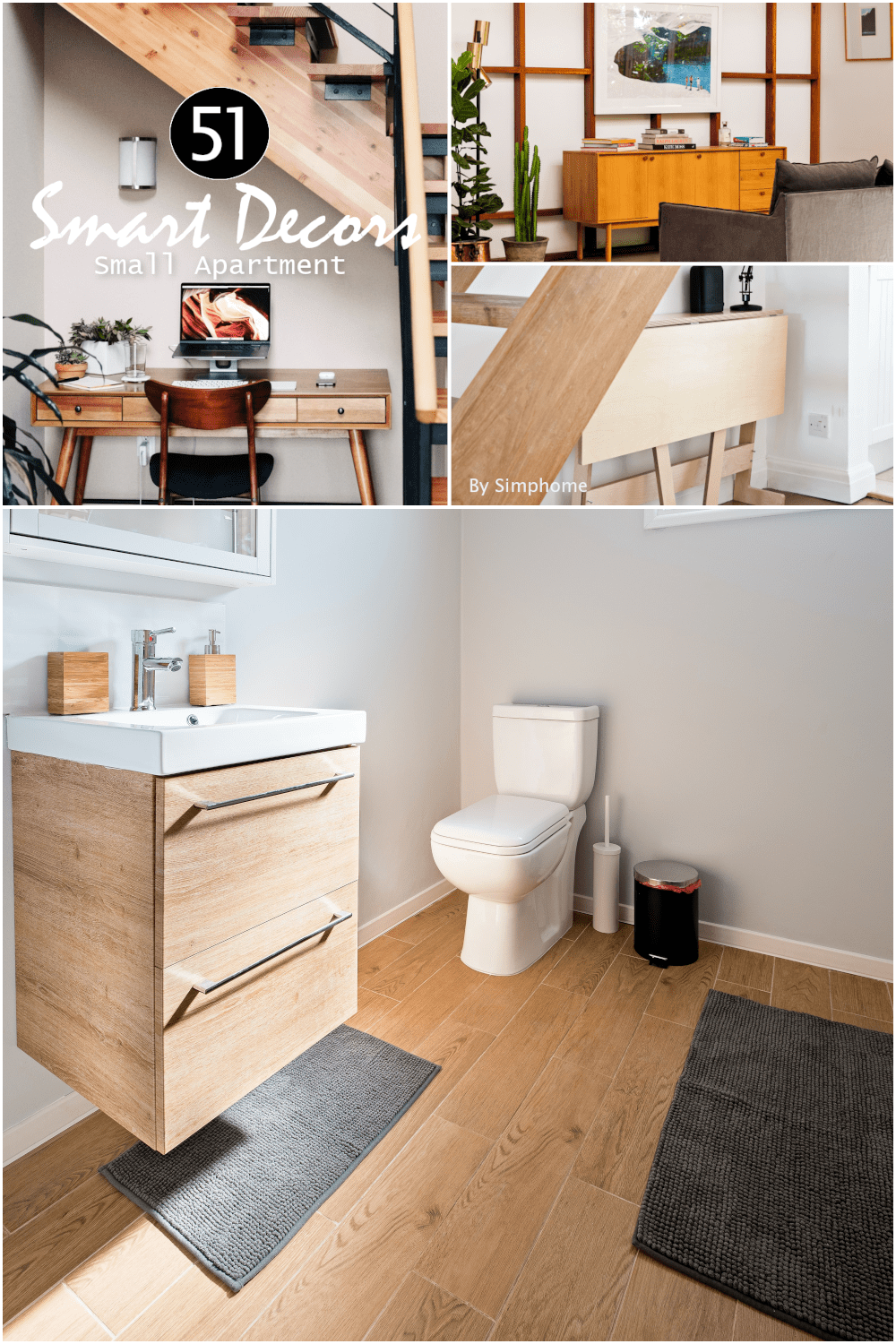 How to Makeover Small Apartment Poster