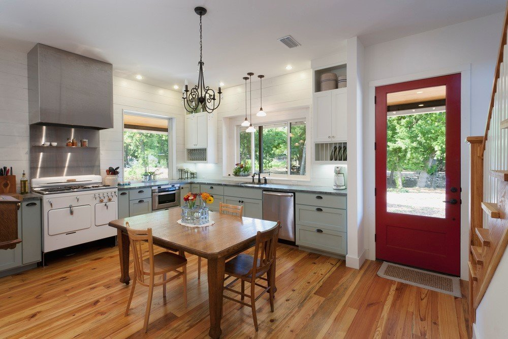 7 White and Maroon Kitchen Simphome com