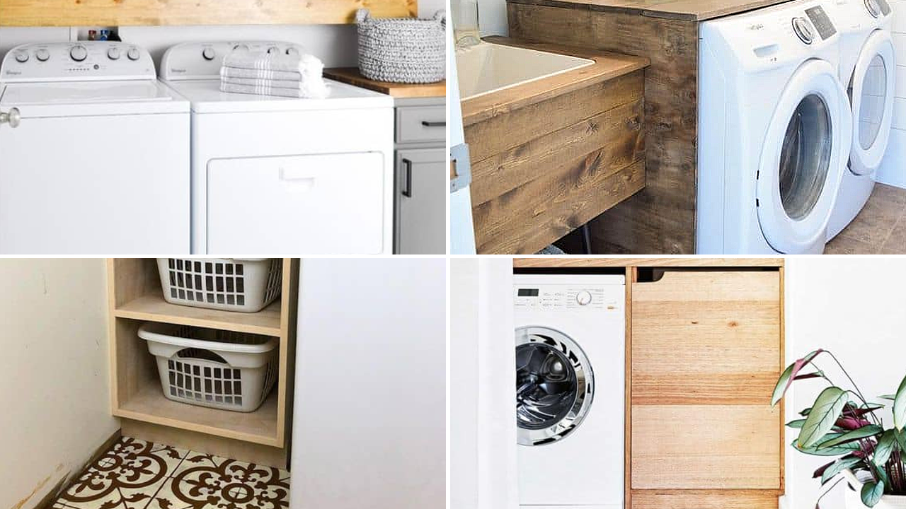 110 Ideas How to Optimize Small Laundry Room and Make It more Stylish via Simphome