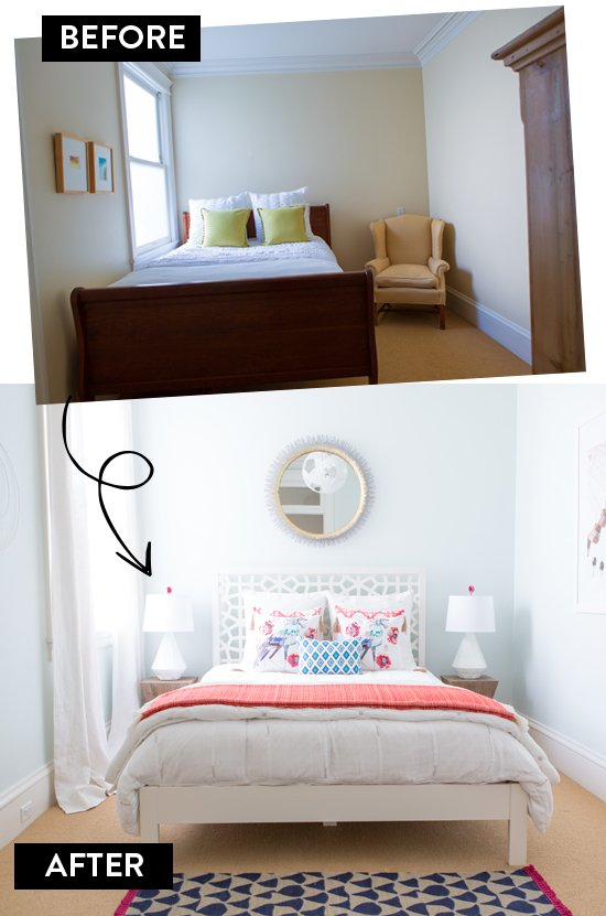 17 Eclectic and Airy before after Simphome