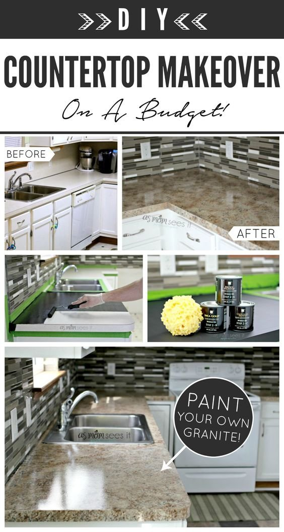 21 Giani Countertop Paint in our kitchen Simphome