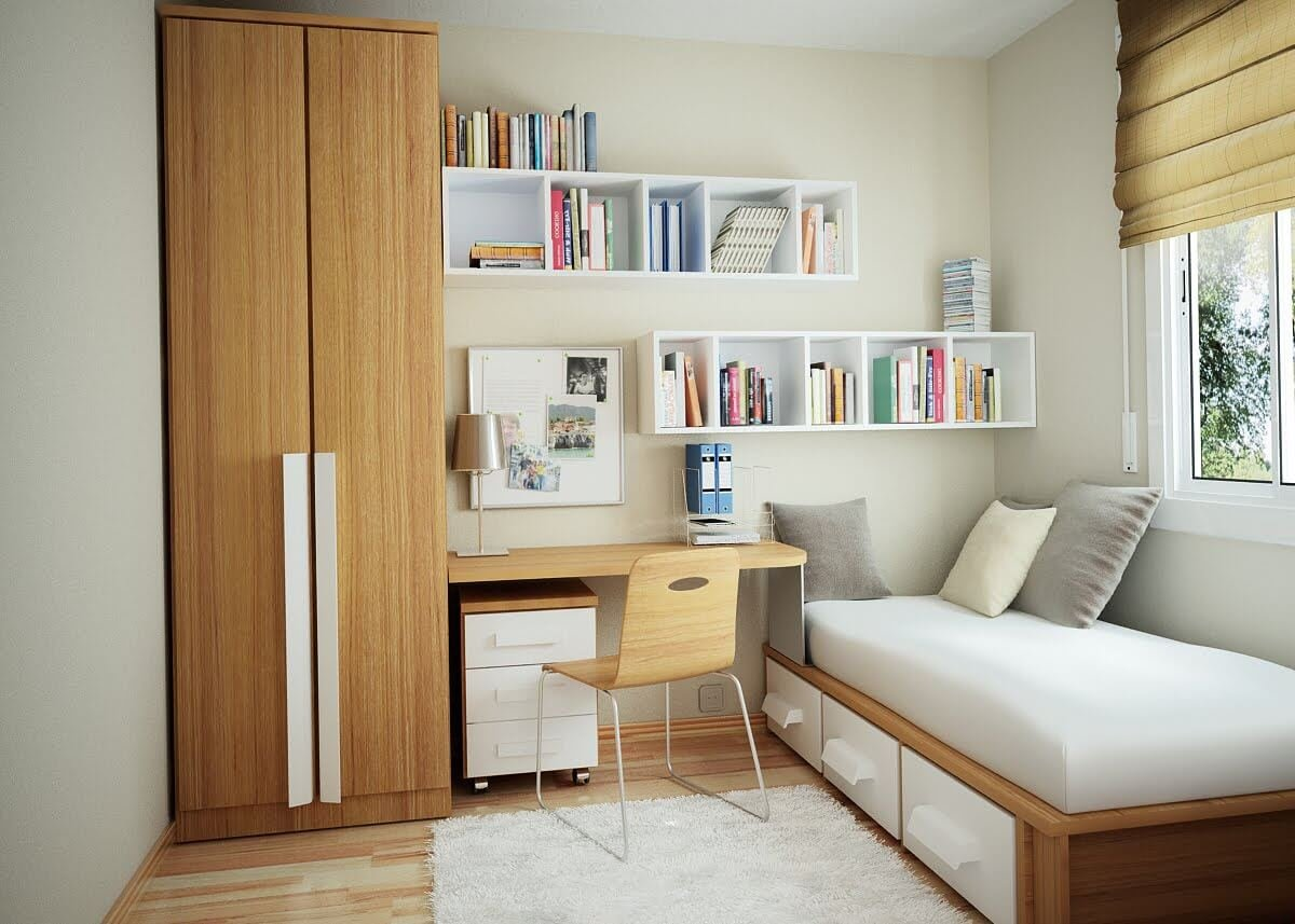 24 decorating ideas for a small bedroom daybead simphome