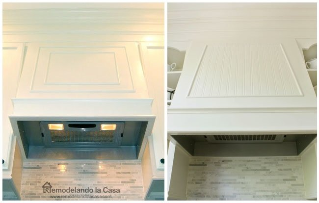 130 Fancy Range Hood before and after via Simphome