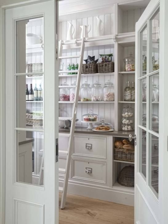 132 Clever ideas to help organize your kitchen pantry 35 ideas via Simphome
