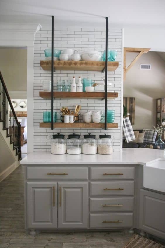 134 Kitchen Renovation Where to find all the goodies via Simphome