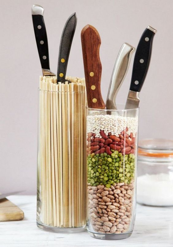 304 Top 15 Most smart tricks To Store Your Knives via simphome