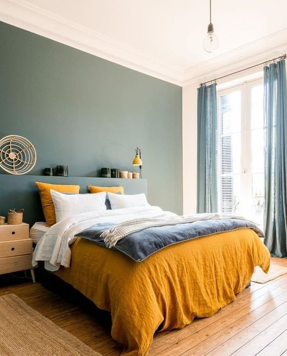 31 Home yellow Bedding and curtains Saved by Designer605 Simphome