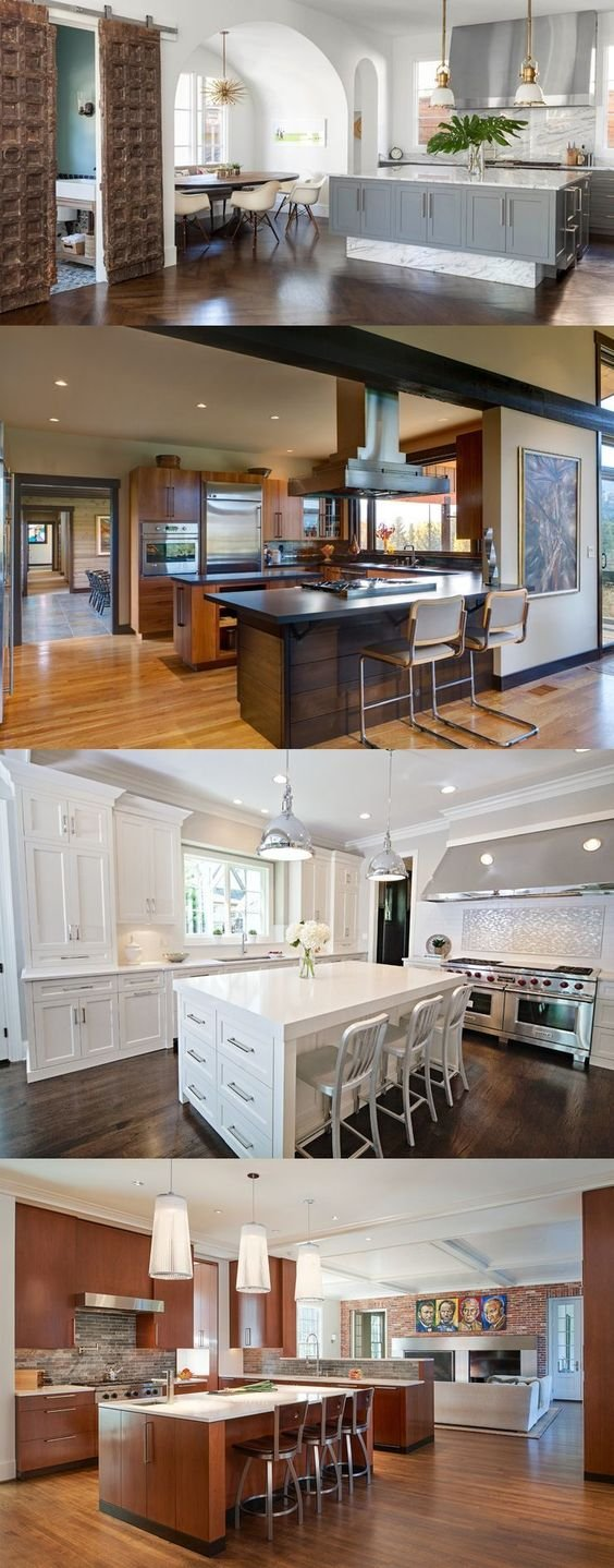 36 Kitchen Island Ideas With Seating Simphome