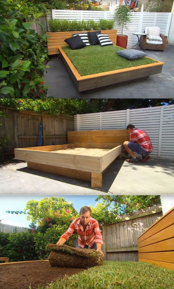 5 DIY Grass Bed Offers a Cozy Green Oasis Simphome