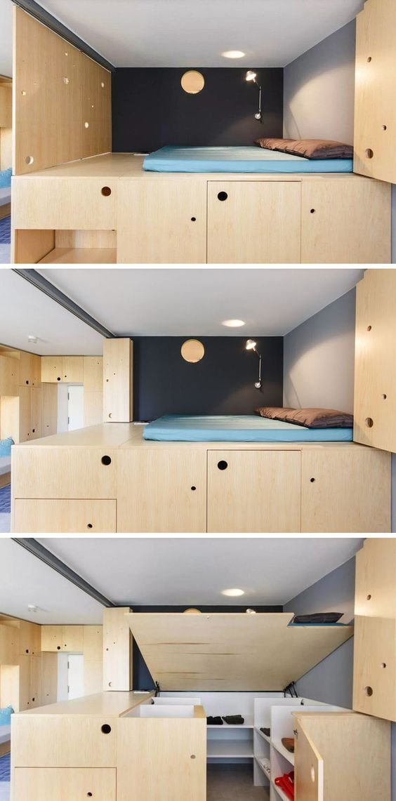 58 lofted bed Simphome
