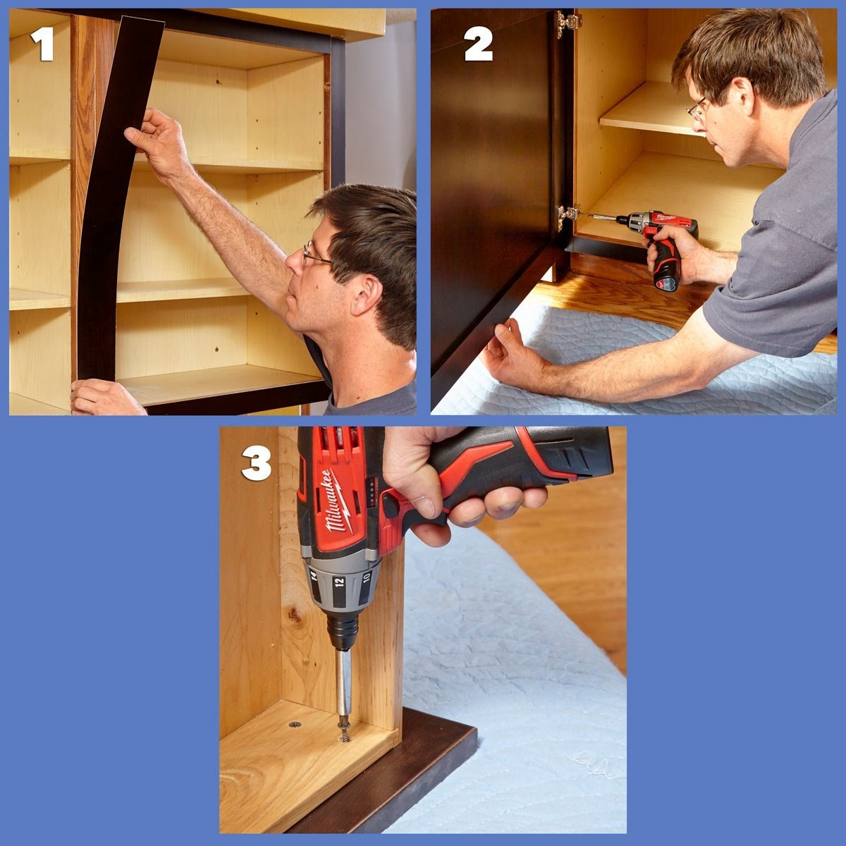 8 Reface the Cabinets with Veneer via simphome