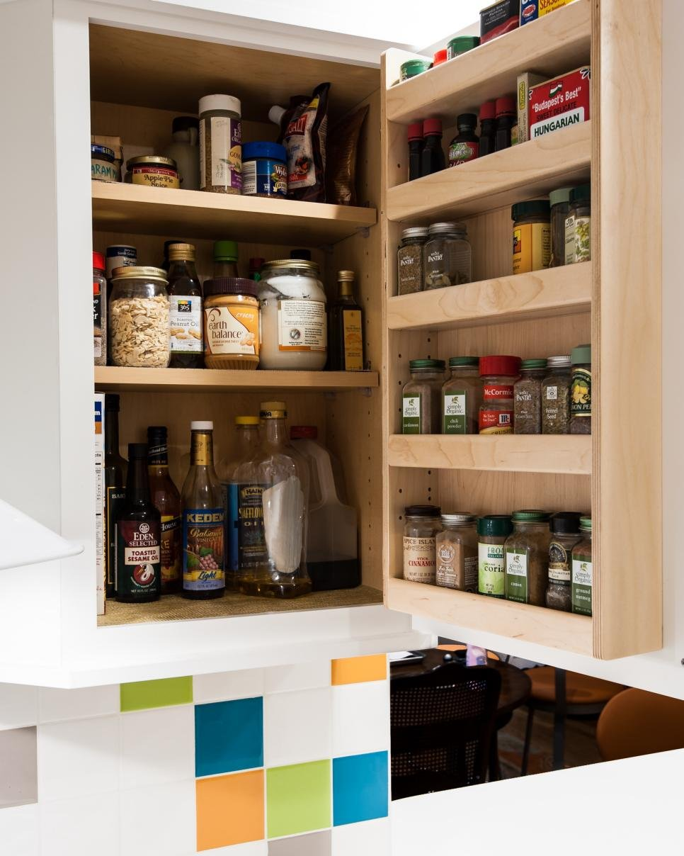 1. Make the Most of Your Kitchen Doors
