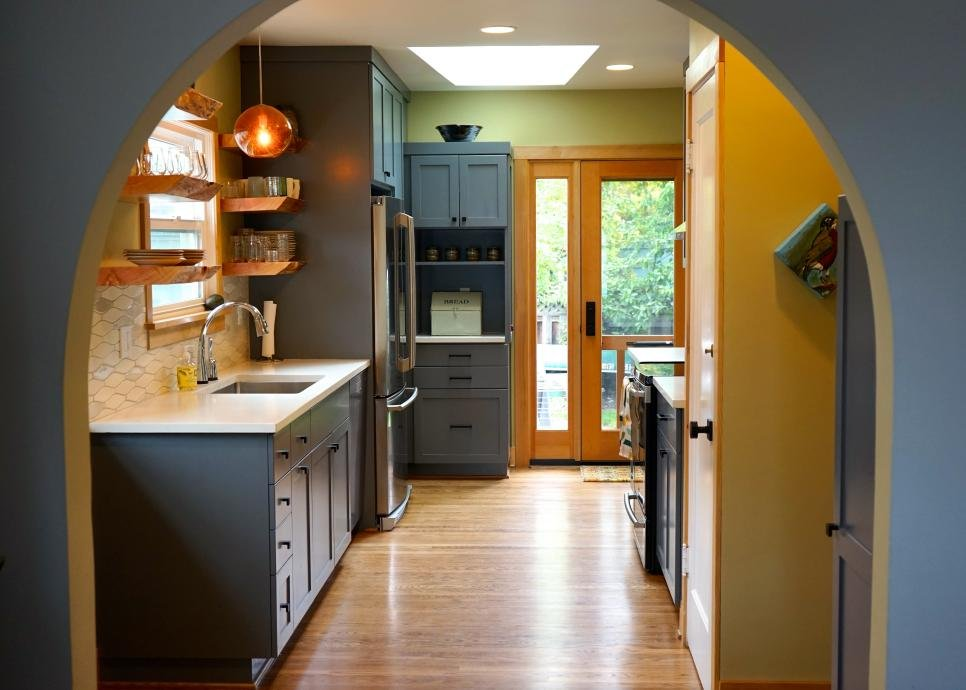 5. Warm Your Kitchen Up with Color