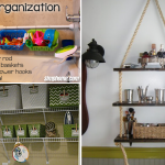 10 DIY Storage Ideas for Small Bathroom and Laundry via Simphome featured