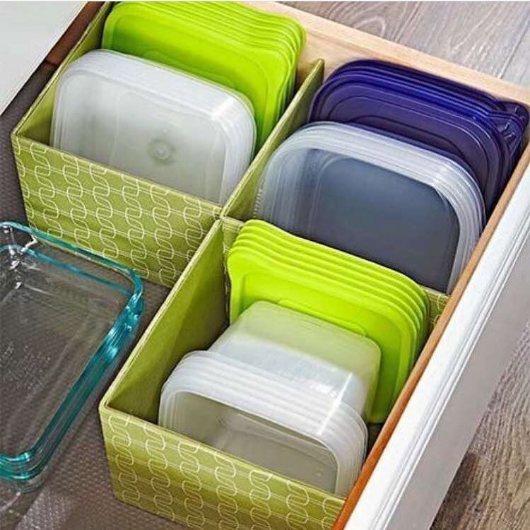 7 Separate the Lids from the Containers via Simphome