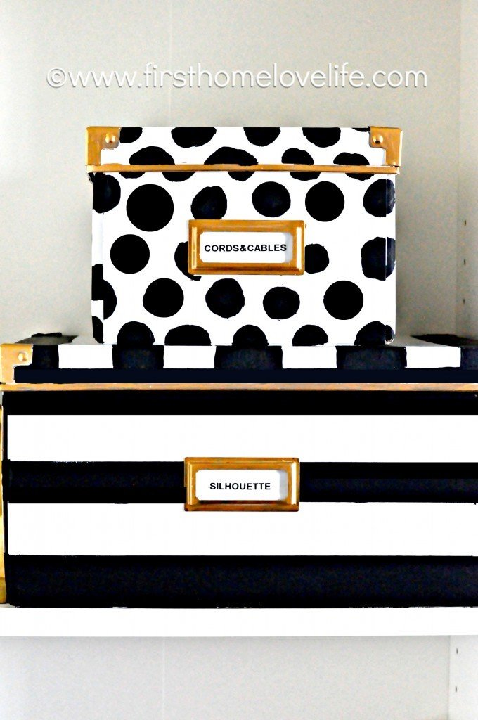 7. Stash the Clutter Away in These Decorative Storage Boxes via Simphome