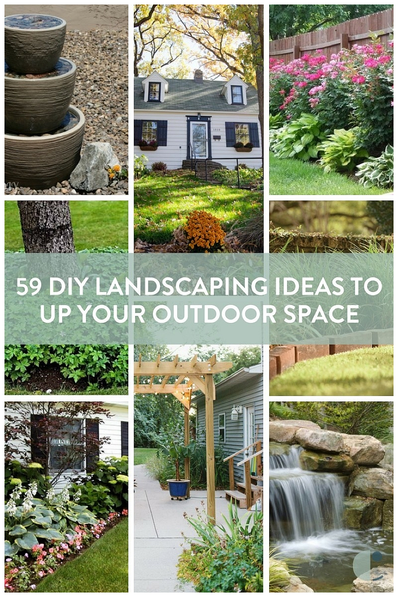 diy landscaping ideas and tips to improve your outdoor space curbly inside 12 clever concepts of how to make diy backyard landscaping via Simphome.com