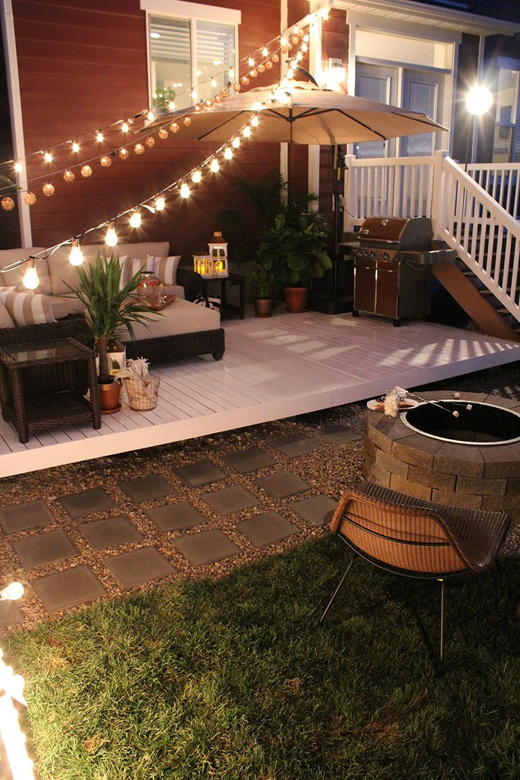 11.SIMPHOME.COM how to build a simple diy deck on a budget with 10 ideas how to makeover cheap backyard deck ideas