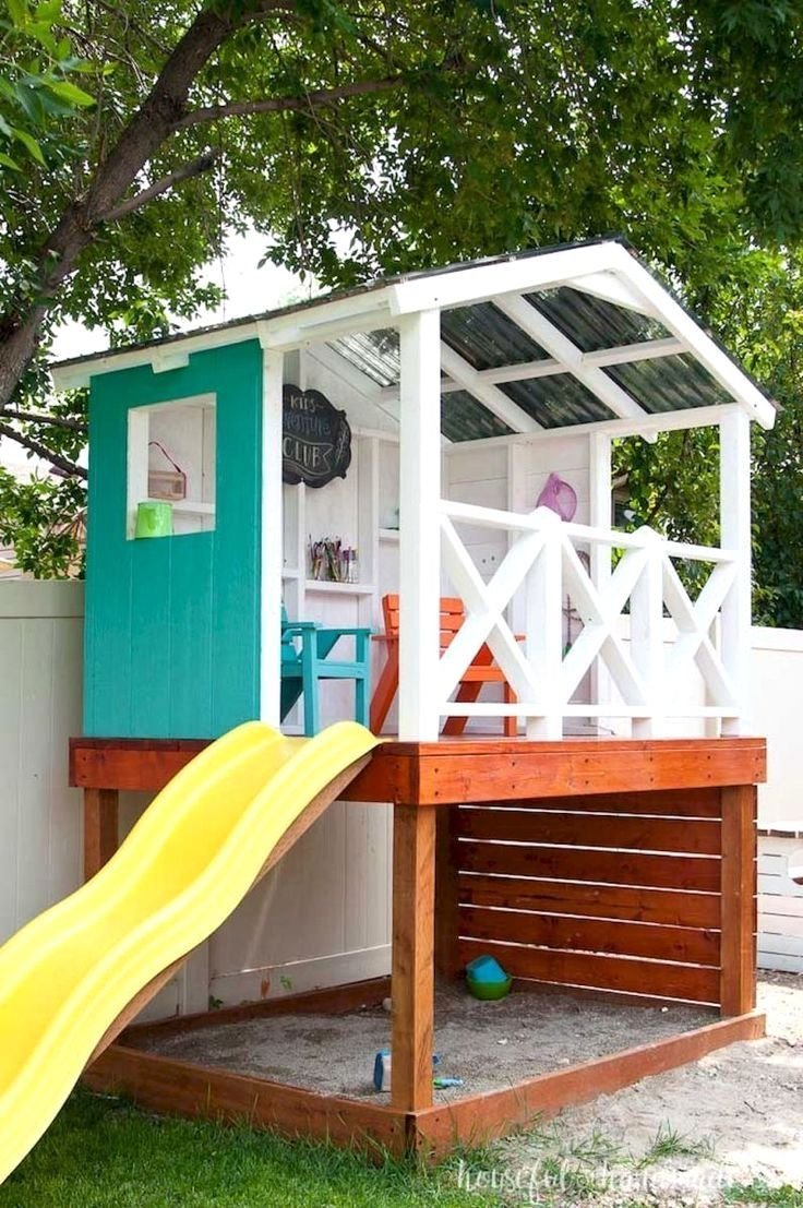 12.SIMPHOME.COM awesome small backyard playground landscaping ideas