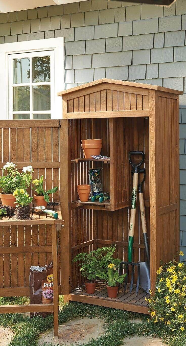 18.SIMPHOME.COM cool storage shed ideas for your garden 3f backyard ideas
