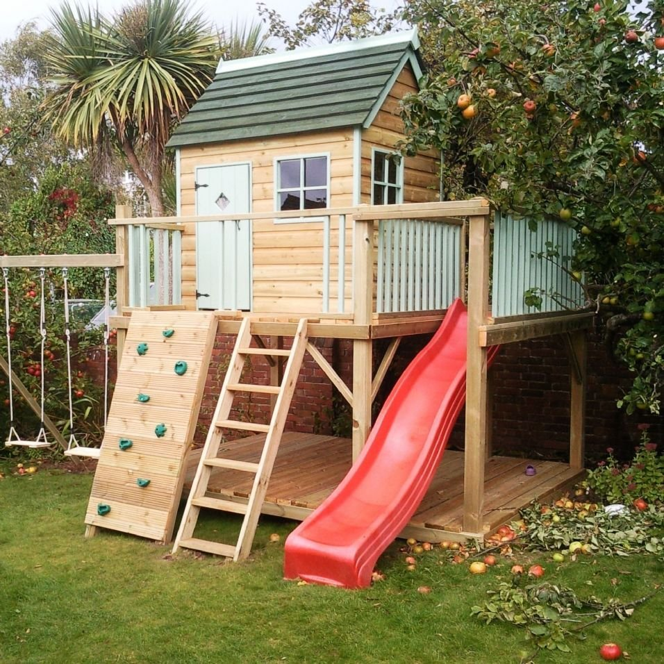 23. SIMPHOME.COM outdoor playhouses for toddlers 20 cool playhouses ideas