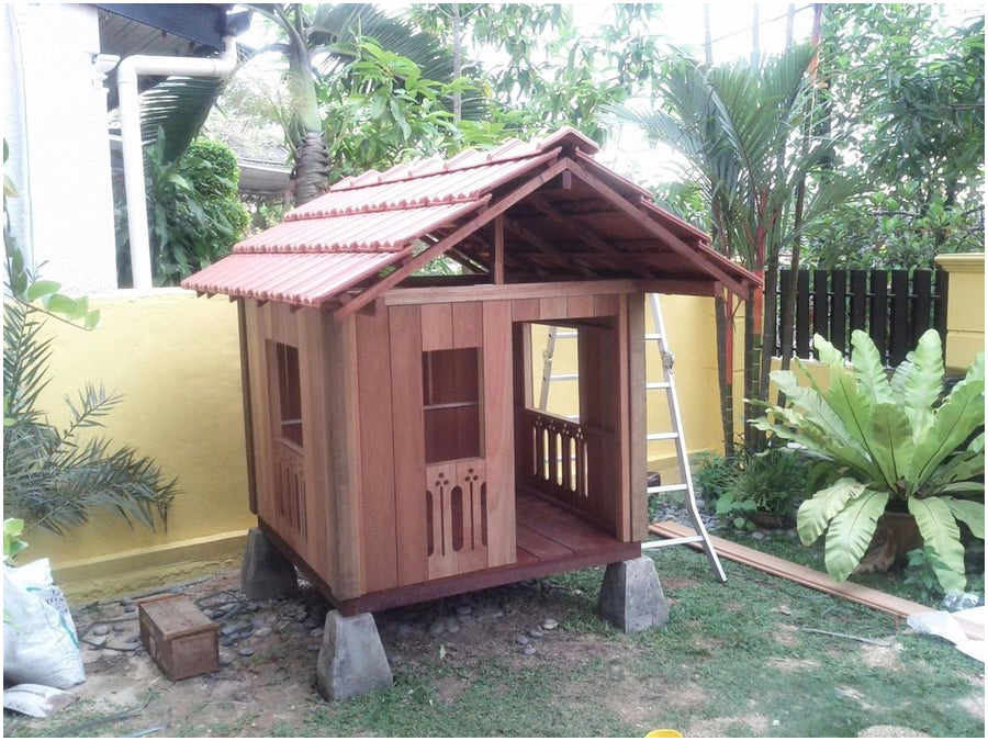 4.Balinese Styled Clubhouse via Simphome.com