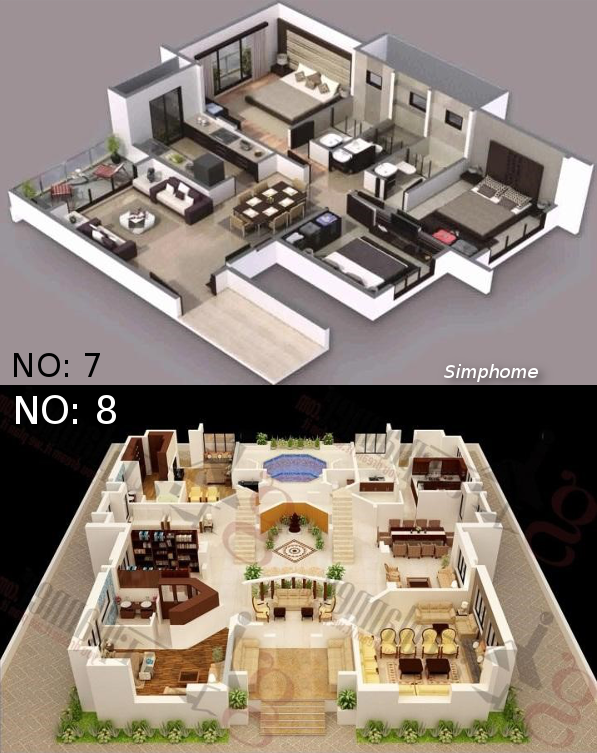 7.8.SIMPHOME.COM COOLEST CONCEPTS OF HOW TO UPGRADE 4 BEDROOM MODERN HOUSE PLANS