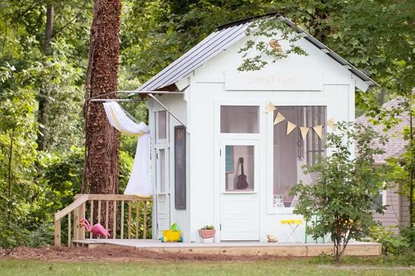 7.How to Convert a Garden Shed to clubhouse via Simphome.com