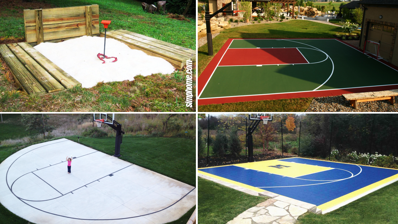 SIMPHOME.COM 10 Genius Concepts of How to Make Backyard Sport Court Ideas Featured Image