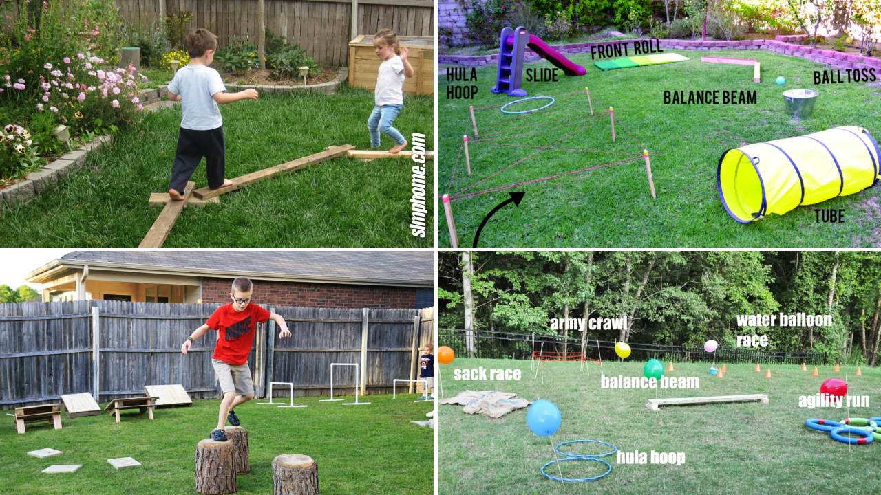 SIMPHOME.COM .10 Genius Tricks of How to Upgrade Backyard Obstacle Course Ideas.Featured Image