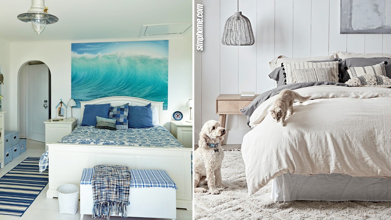 10 Decor Ideas that Spruce up your White Bedroom via Simphome.com featured image
