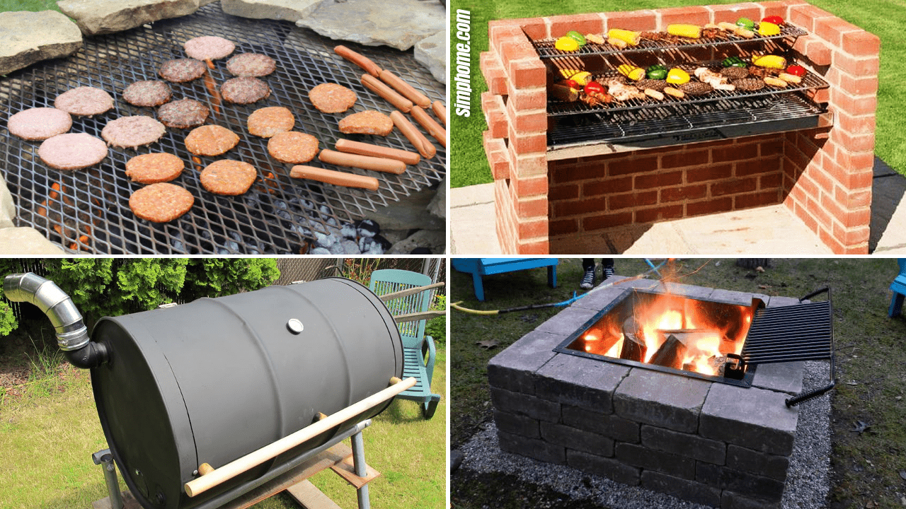 Simphome.com 10 Clever and Cheap Ways How to Build Backyard Grill Ideas.Featured Image