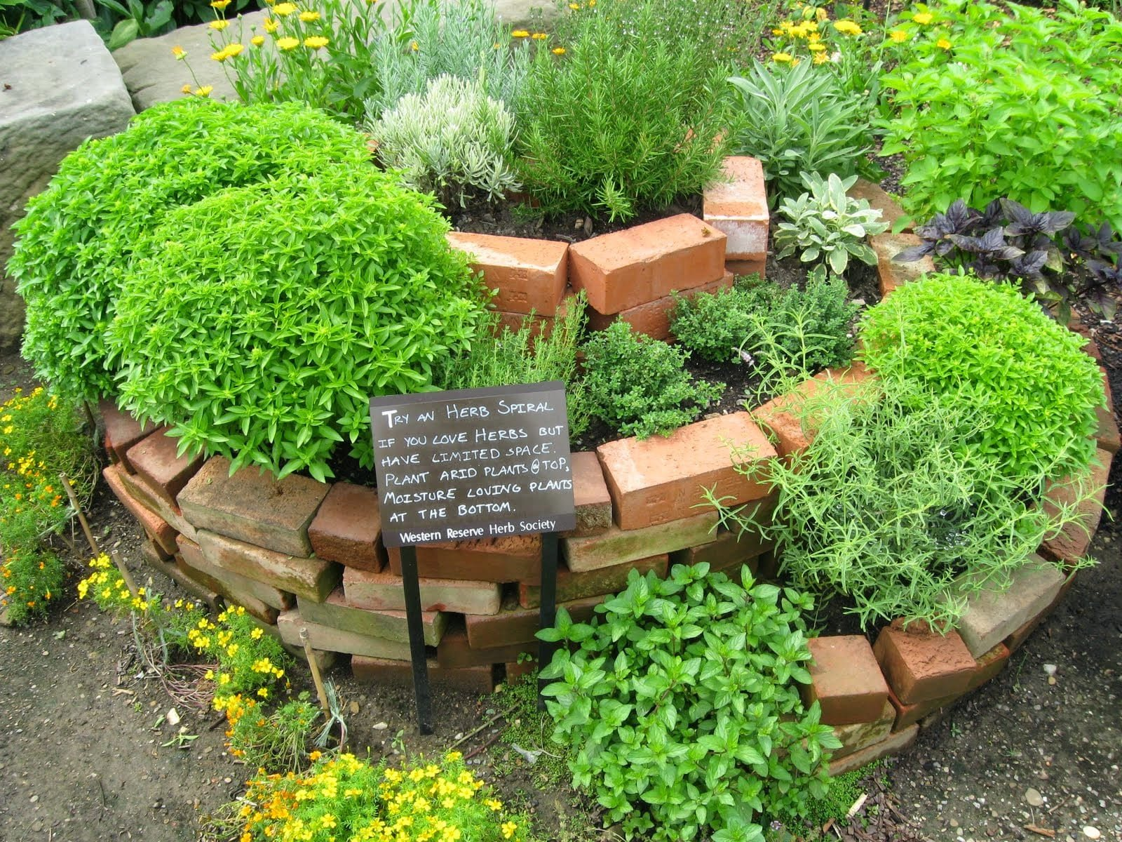 Simphome.com herb garden ideas and design home design inspirations with 10 potted herb garden ideas elegant and stunning