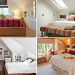 Simphome.com 10 slanted ceiling bedroom makeover ideas Featured image