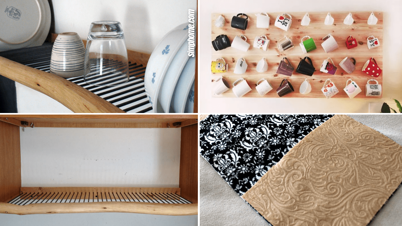Simphome.com 10 DIY Hanging Organizer Ideas and Solutions Featured Image