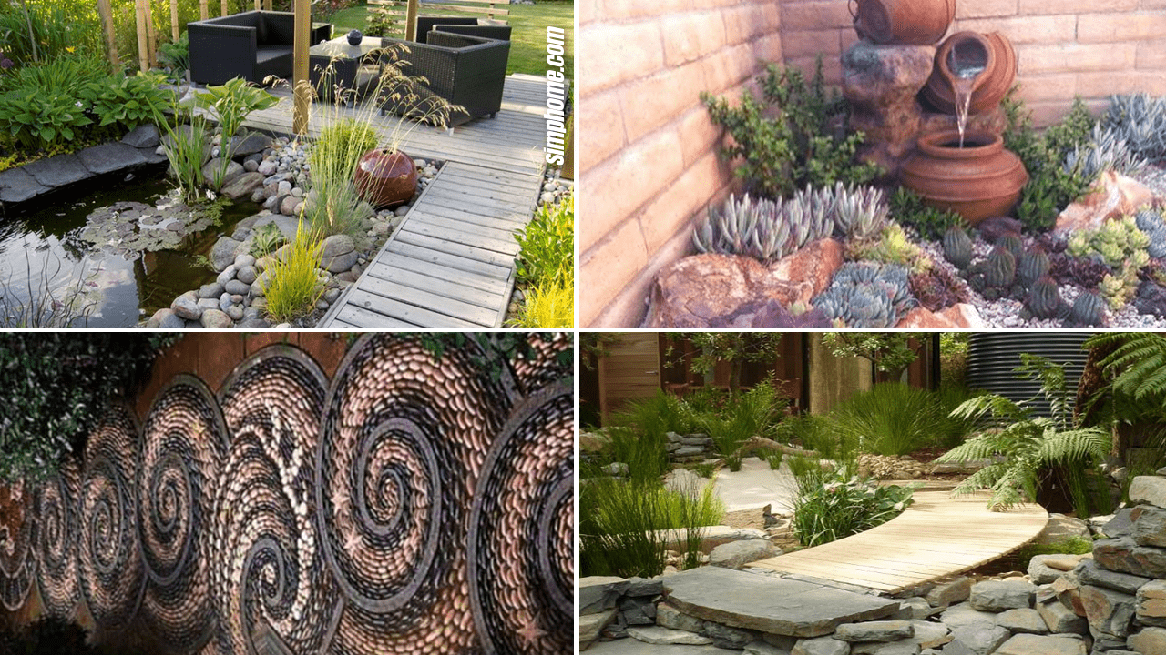 Simphme.com 10 Awesome and Stylish Rock Garden Ideas Featured Image