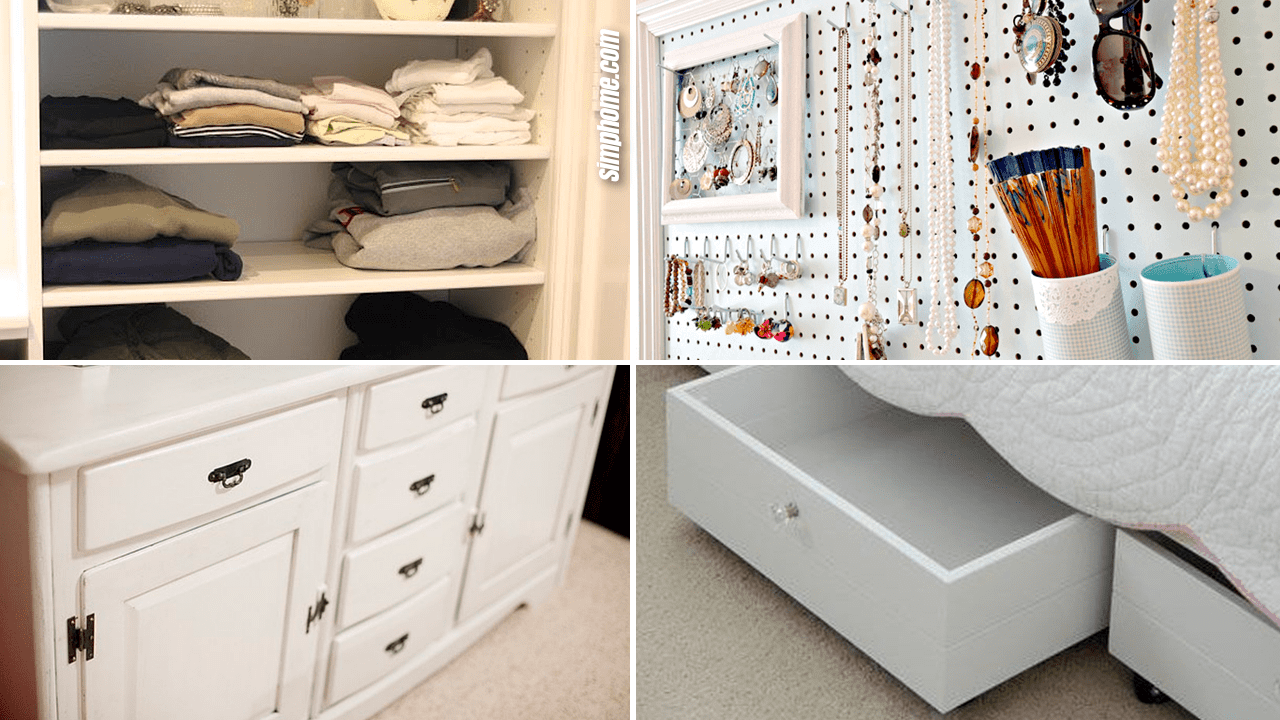 Simphome.com 10 Clothes Storage Idea that Would Work Even without Closet Featured image