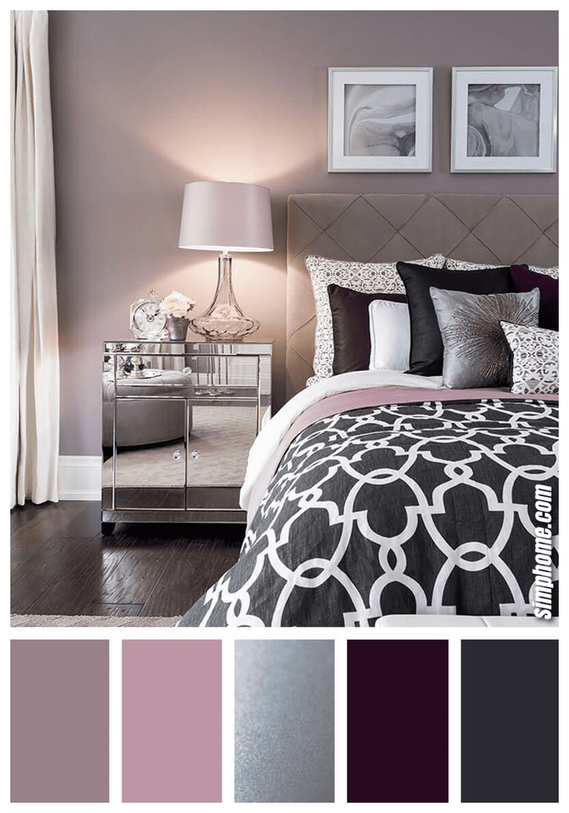 Simphome.com A gorgeous bedroom color scheme ideas to create a lovely magazine worthy room