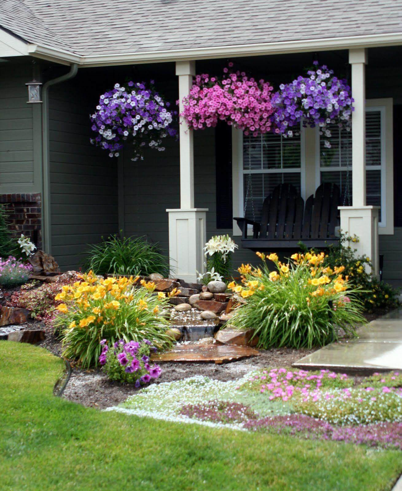 Simphome.com front yard landscaping ideas and garden designs for 2020 2021 regarding gardening ideas for front yard