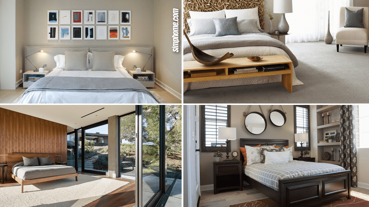 How to Turn Neutral Bedrooms Less Boring By Simphome.com