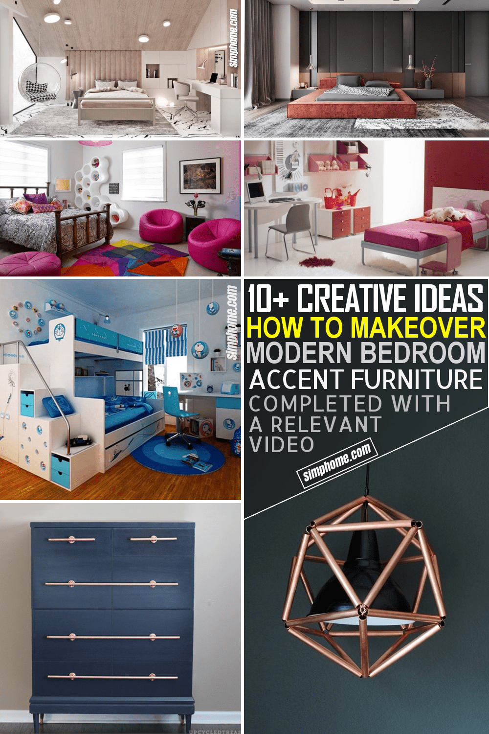 10 Modern Bedroom Accent Furniture Ideas by Simphome.com Featured Image