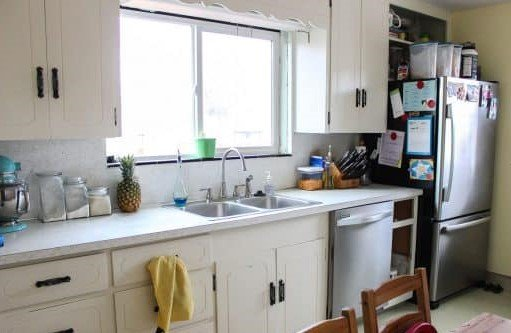 12.Add style to your cabinet with shaker type doors via Simphome.com before