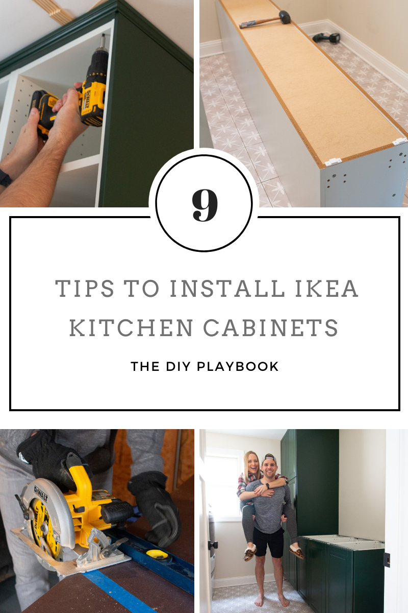 04. IKEA Kitchen Cabinet Install Tips by simphome.com